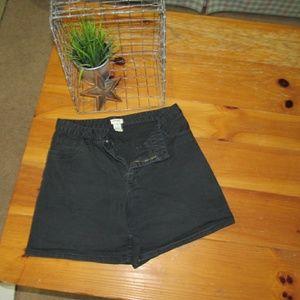 Cherokee Shorts - 90's styled Cherokee Black Stretch Shorts